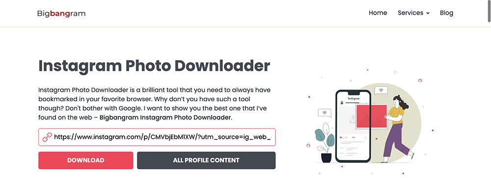 Bigbangram - ig圖片下載複製張貼連結