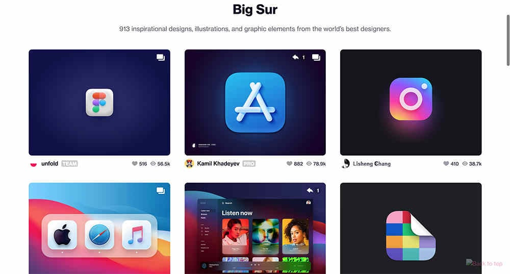 macos big sur icon pack - dribbble