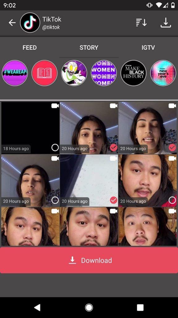 Instagram Story Downloader - Story Saver for Instagram IG限時動態下載