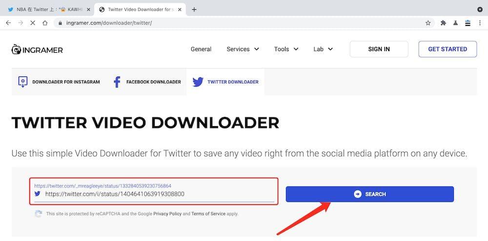 Twitter下載工具推薦 - ingramer - 張貼連結