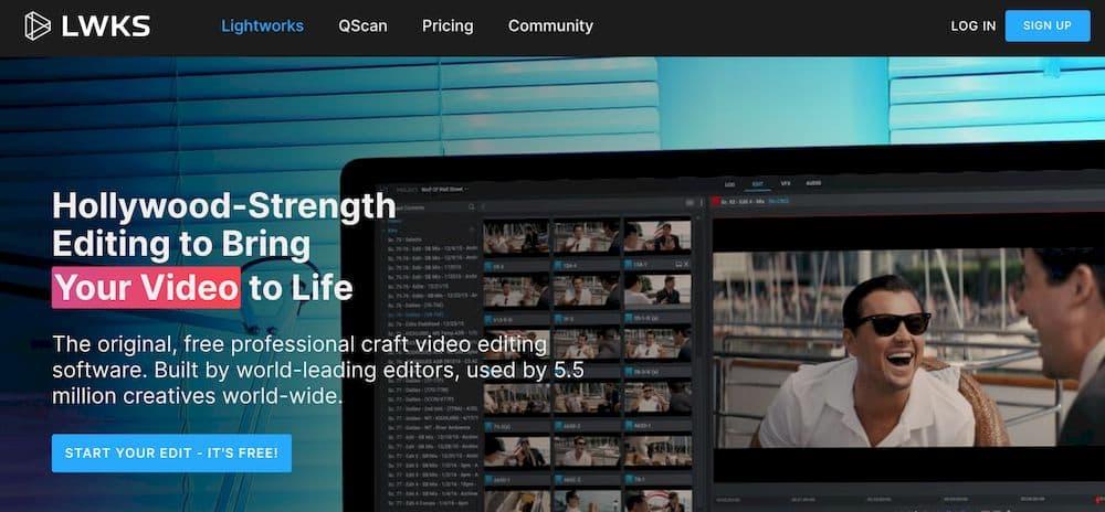 6 款最推薦的 Mac 影片剪輯軟體 - Lightworks