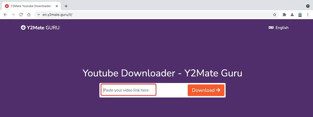 Y2mate YouTube to MP3教學 - 複製張貼連結