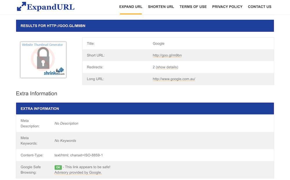 3 個免費短網址還原線上工具 - ExpandURL 教學 - 檢視短網址還原