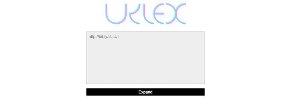 3 個免費短網址還原線上工具 - URLex 張貼短網址