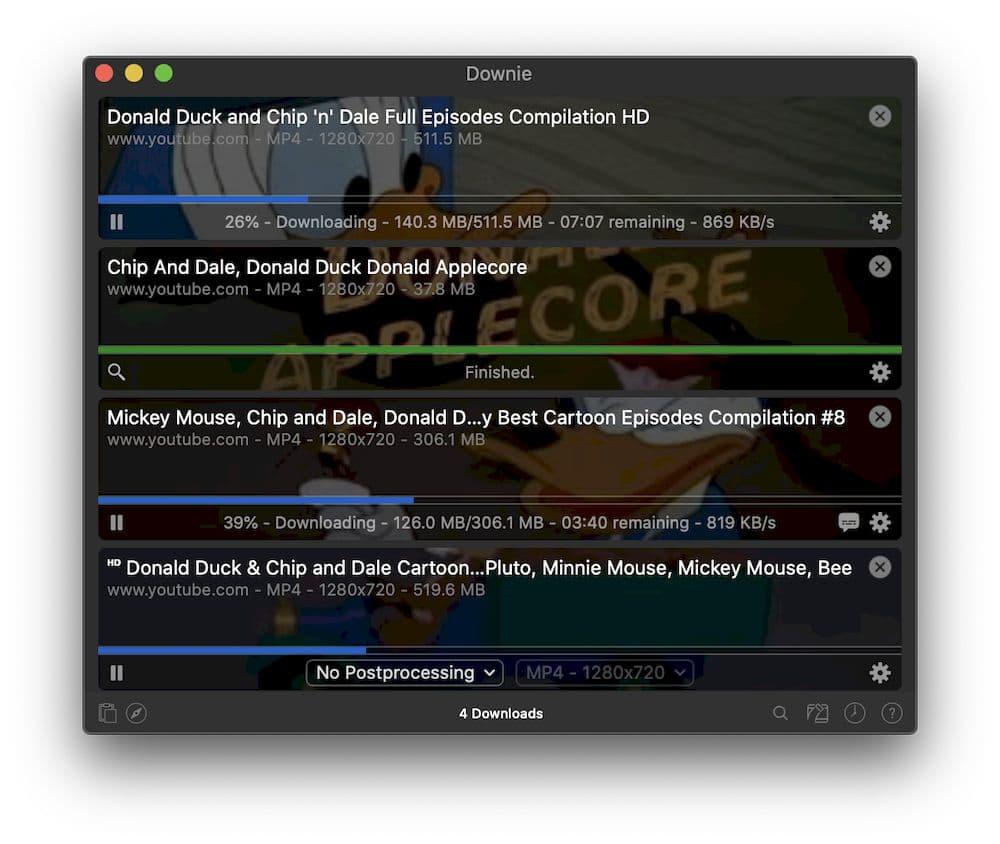 6 款專業的 YouTube MP3 下載器 - Downie