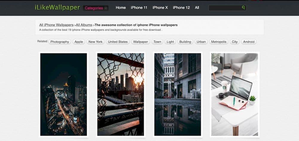7 個免費精選 iPhone 桌布網站推薦 - Ilikewallpaper