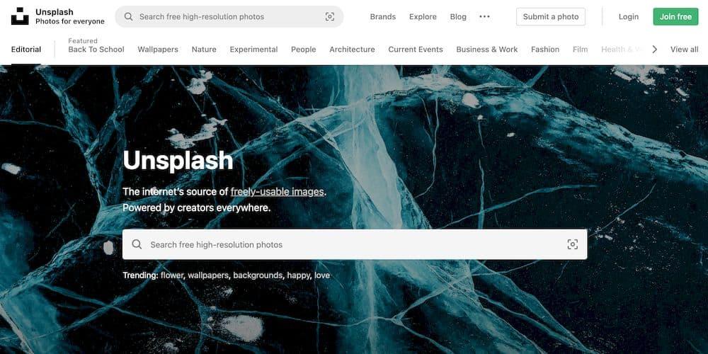 7 個免費精選 iPhone 桌布網站推薦 - Unsplash