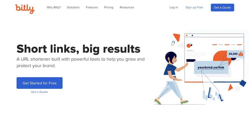 7 個免費縮網址線上工具最佳推薦 - Bitly